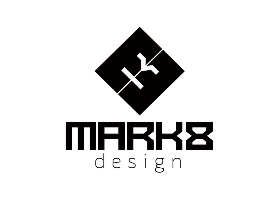 Mark 8 Logo design