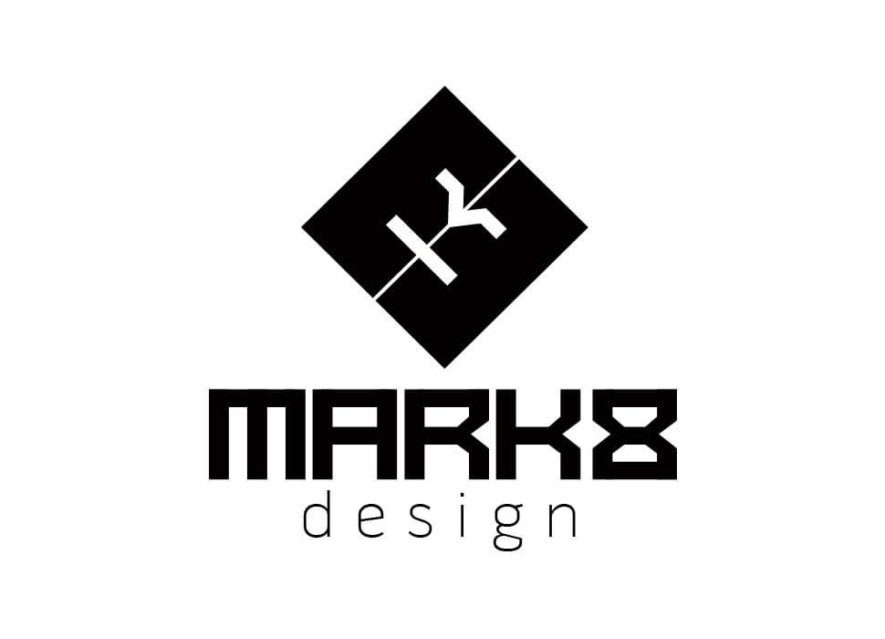 Mark 8 Logo design